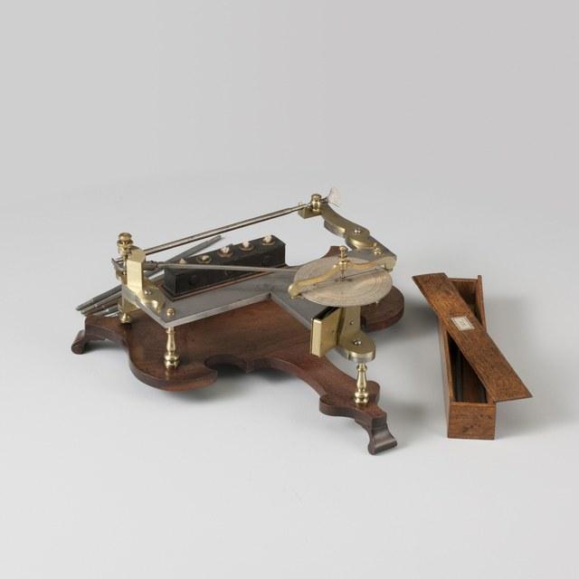 Dilatometer: 'Pyrometer', naar Petrus van Musschenbroek