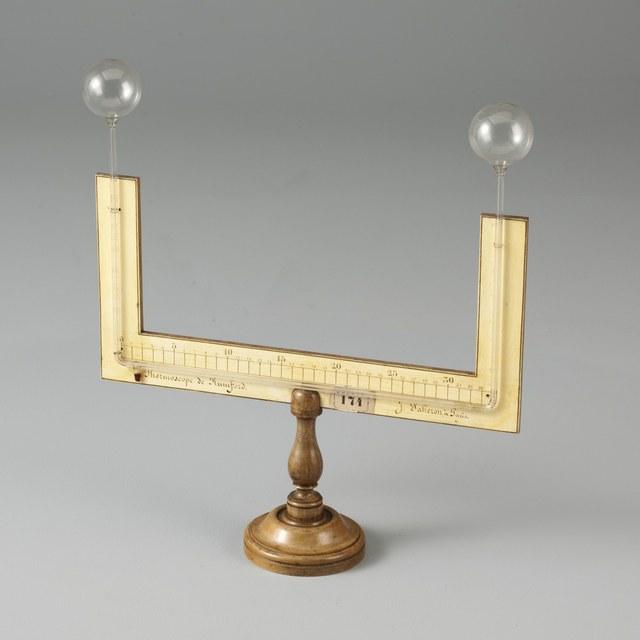 Differentiële luchtthermometer