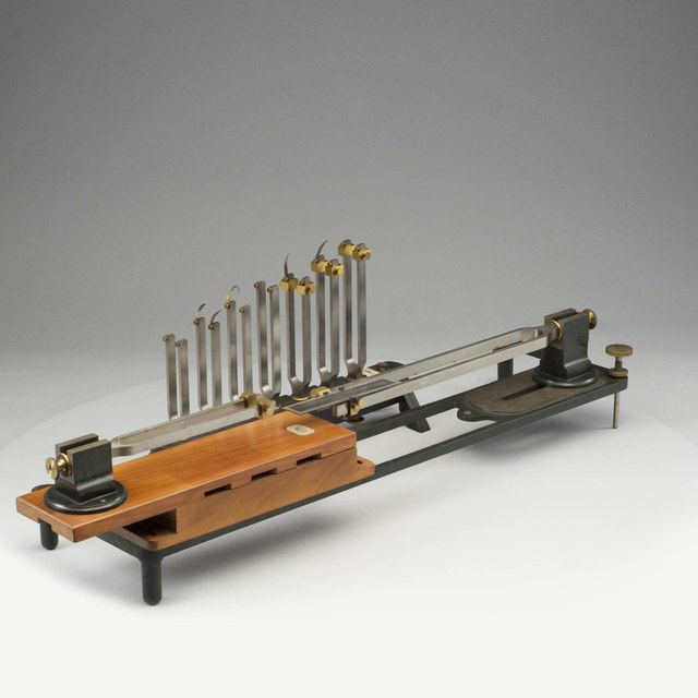 Apparatuur voor de grafische samenstelling van trillingen