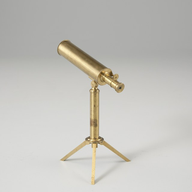Kleine spiegeltelescoop, naar J. Gregory (1663)