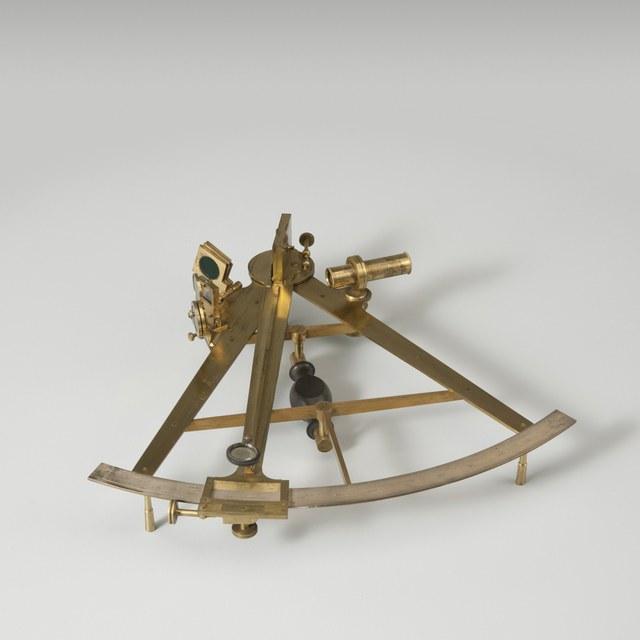 Spiegelsextant, naar T. Mayer en J. Campbell (ca. 1758)