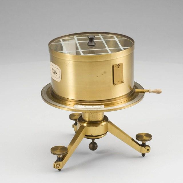 Atmosferische elektrometer, naar Peltier en Kohlrausch