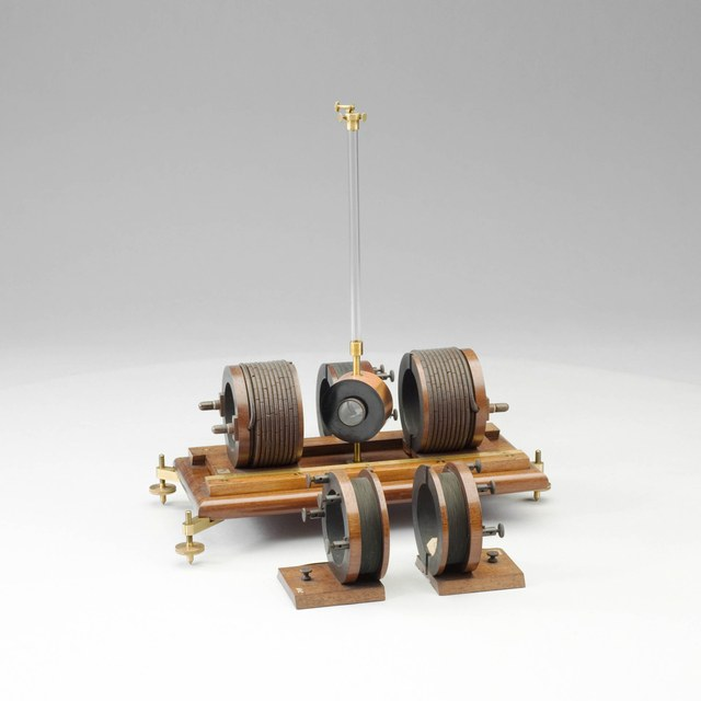 Spiegelgalvanometer, naar Wiedemann