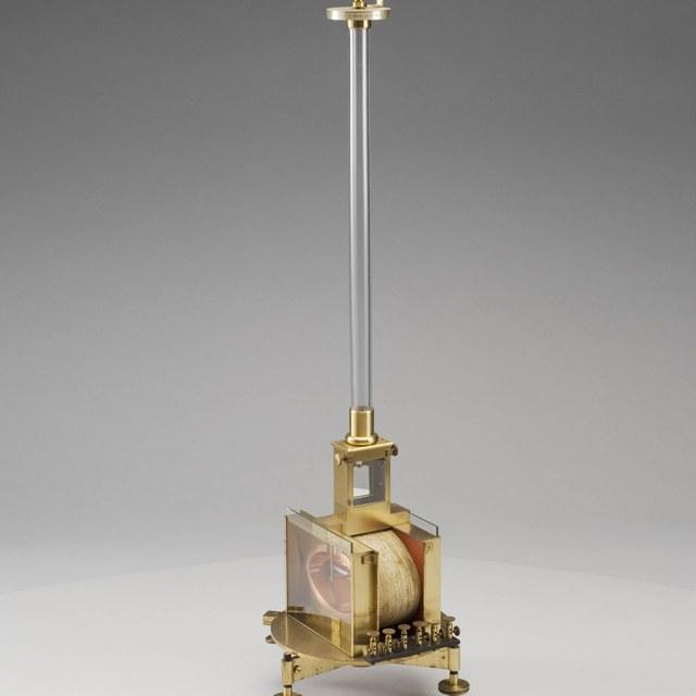 Spiegel-magnetometer, naar Weber
