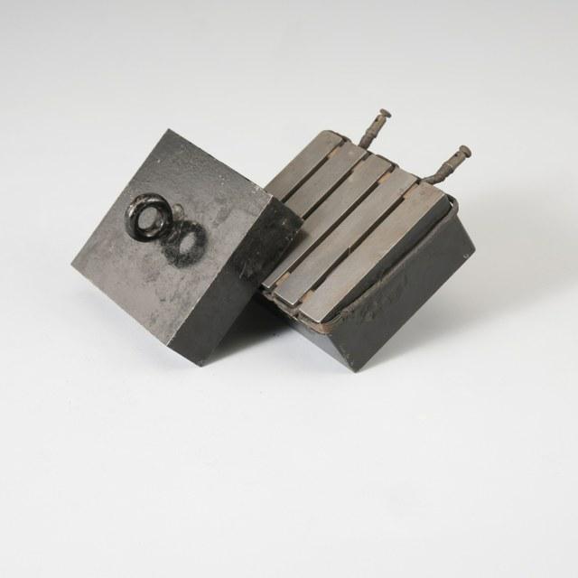 Elektromagneet & anker, naar R. Roberts (1841)