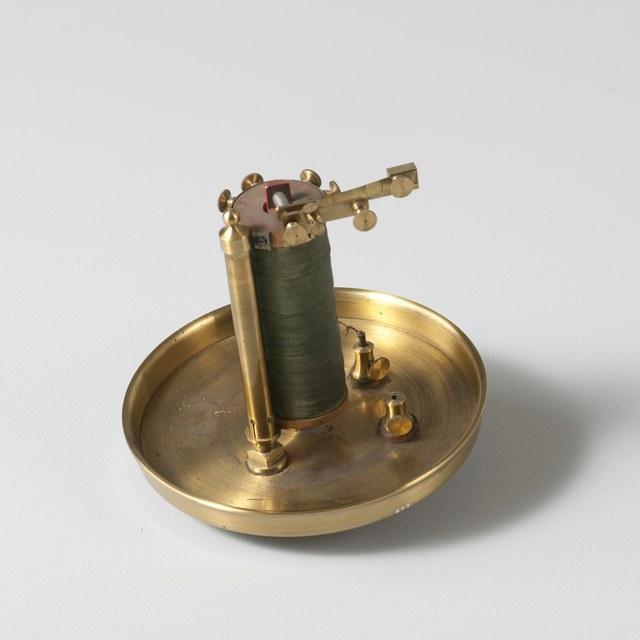 """""""Magnetelektromotor"""", naar Christian Ernst Neeff (1839)"""