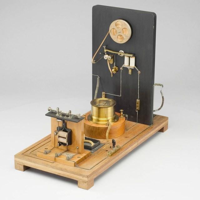 Ontvanger voor draadloze telegrafie, naar Marconi