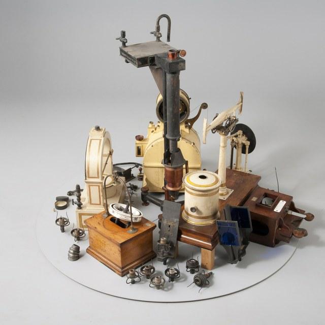 Apparatuur voor gasfotometrie, document van 1906