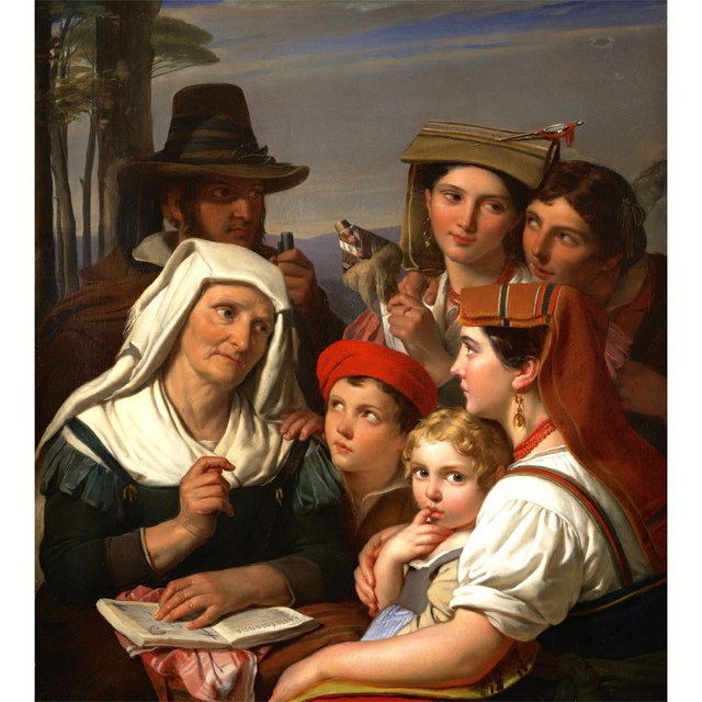 De Legende - Cornelis Kruseman (Amsterdam 1797‑1857)