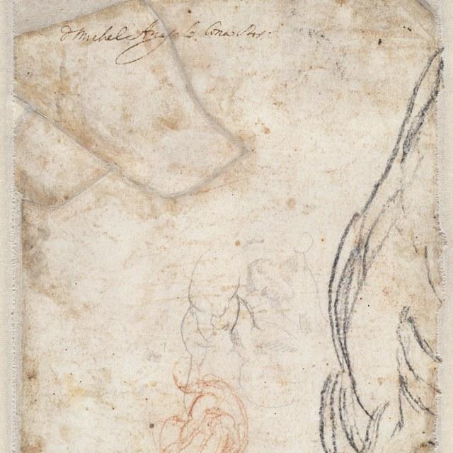 Enkele schetsen (het hoofd van Haman)