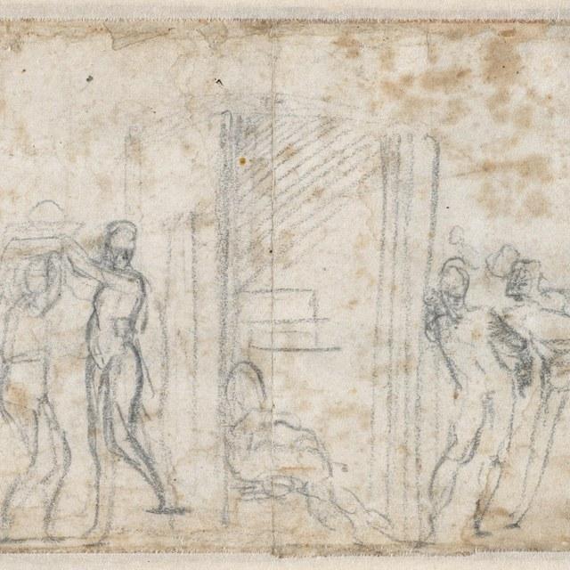 Judith en Holofernes (schets)