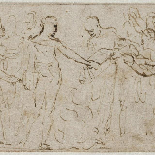 Augustus verhindert het verbranden van de Aeneis