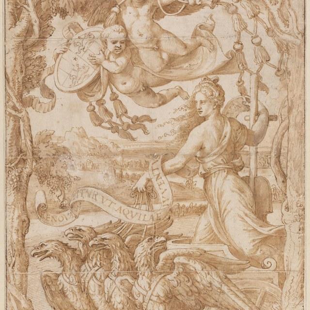 Allegorie op het regentschap van kardinaal Ercole Gonzaga