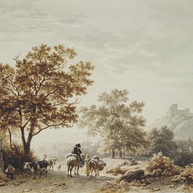 Landschap in het Middelgebergte