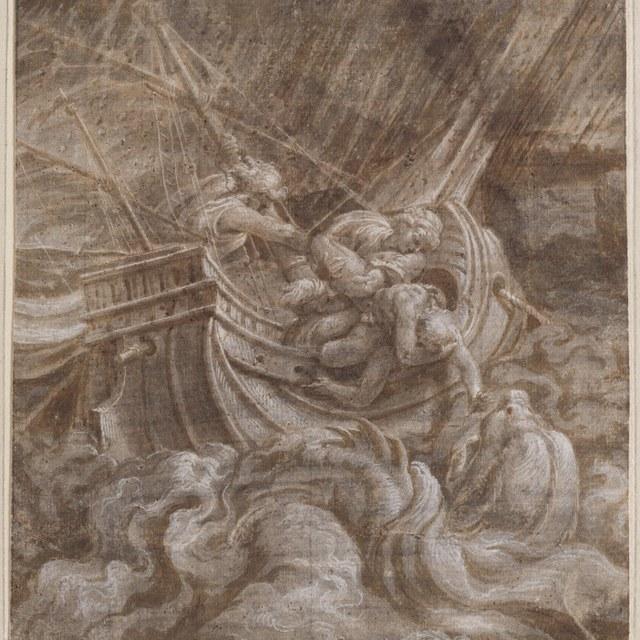 Jona in zee geworpen