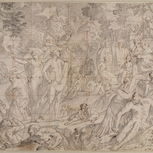 Triomf van de rechtschapen kunstenaar op Parnassus