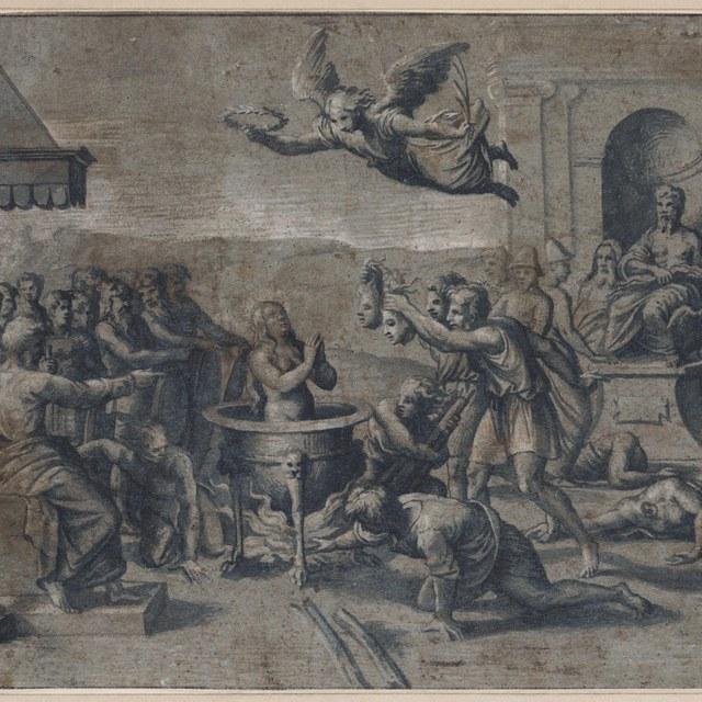 Marteldood van de heilige Cecilia