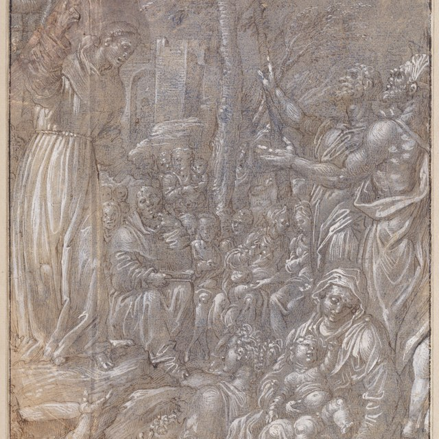 Prediking van Antonius van Padua