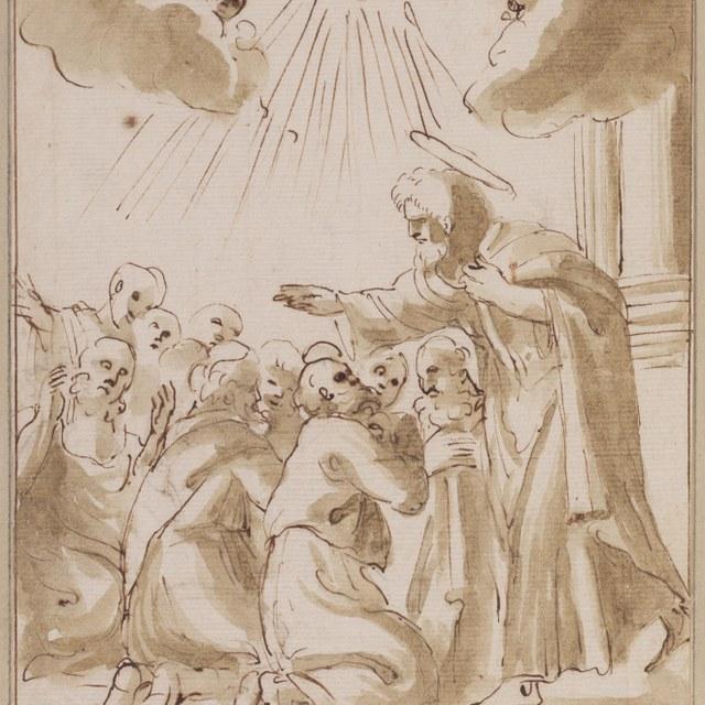 Paulus zegent twaalf gedoopte discipelen