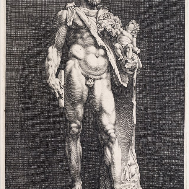 Hercules met Telephos ('Commodus Imperator')