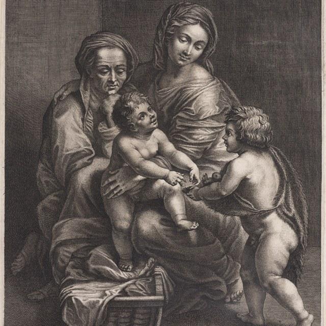 Madonna met Elisabeth en Johannes de Doper