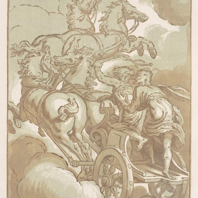 Zonnewagen met Apollo?