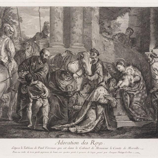Aanbidding door de koningen