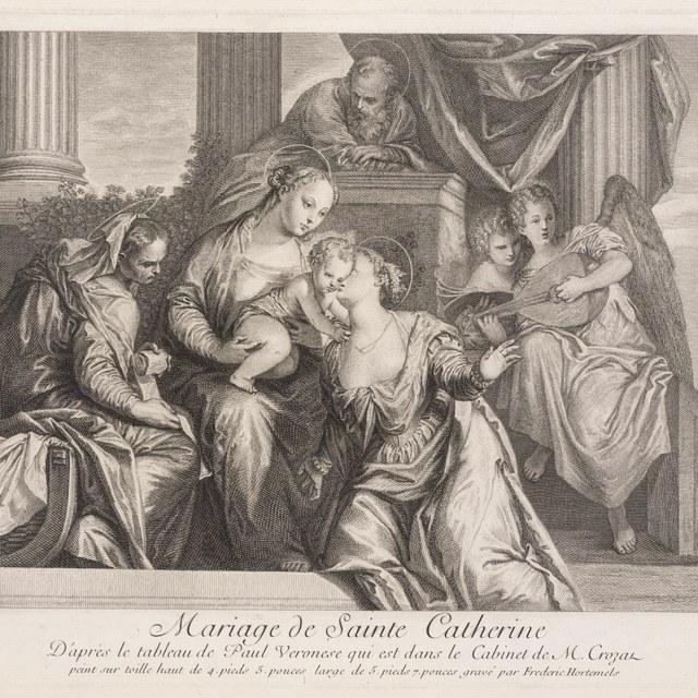 Mystiek huwelijk van de heilige Catherina