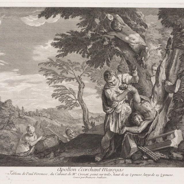 Apollo vilt Marsyas