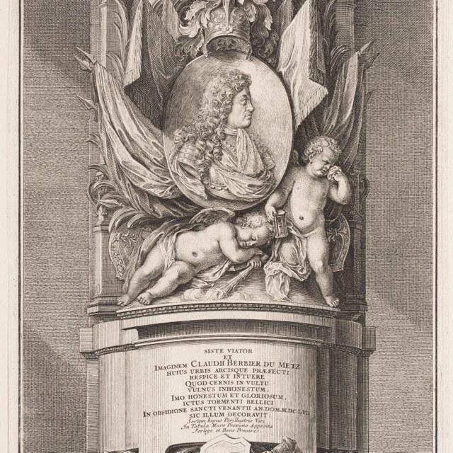 Monument voor Claude Berbier du Metz