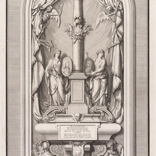 grafmonument Olivier de Castellan