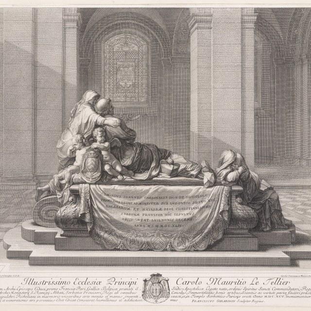 graftombe kardinaal de Richelieu (achterkant)