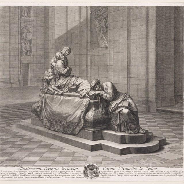 graftombe kardinaal de Richelieu (zijkant)