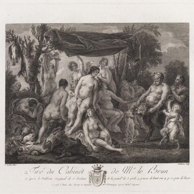 Diana met nimfen en saters