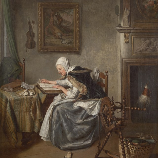Lezende vrouw