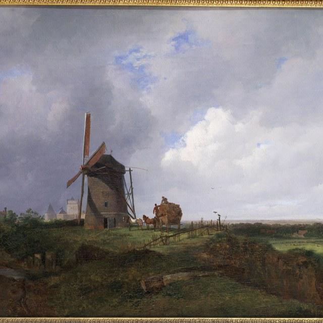 Landschap bij Gildehaus (zomer)
