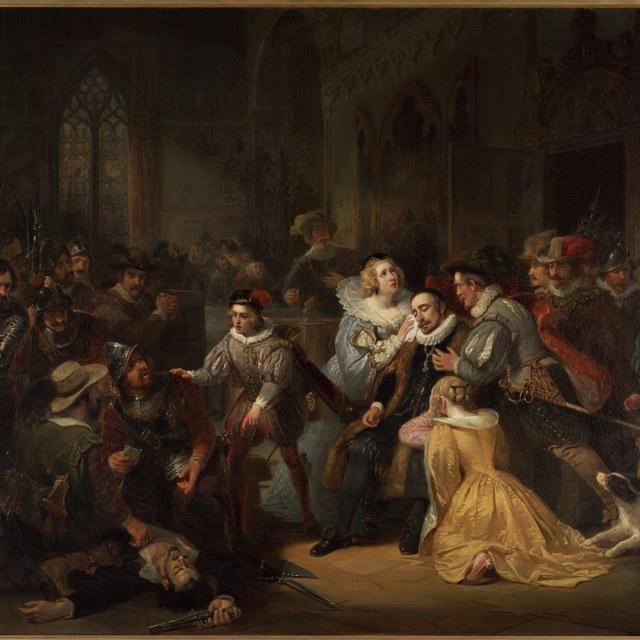 De aanslag door Jean Jauregui op Prins Willem I, Antwerpen 18 maart 1582