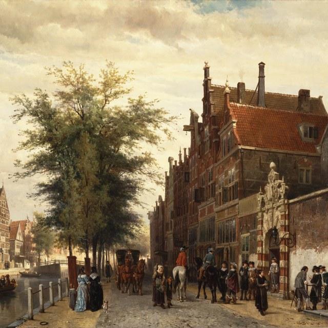 Het Athenaeum Illustre te Amsterdam in 1650