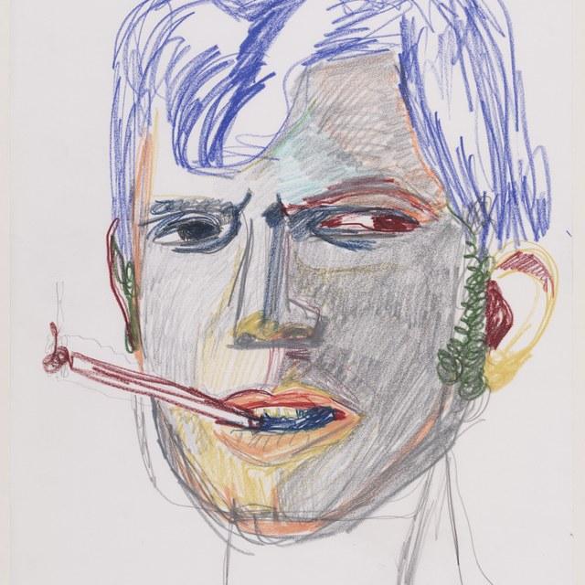 Portret van de folk-zanger Tim Rose