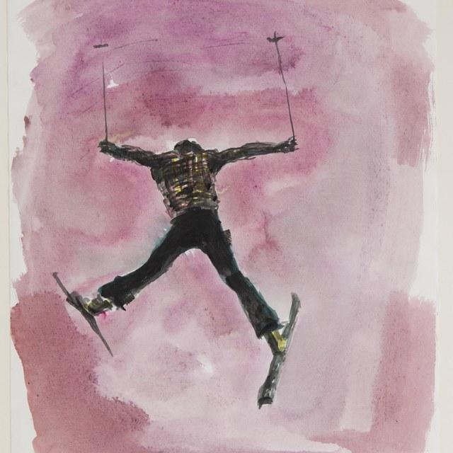 Ski springer