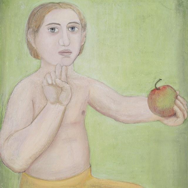 Jongen met appel