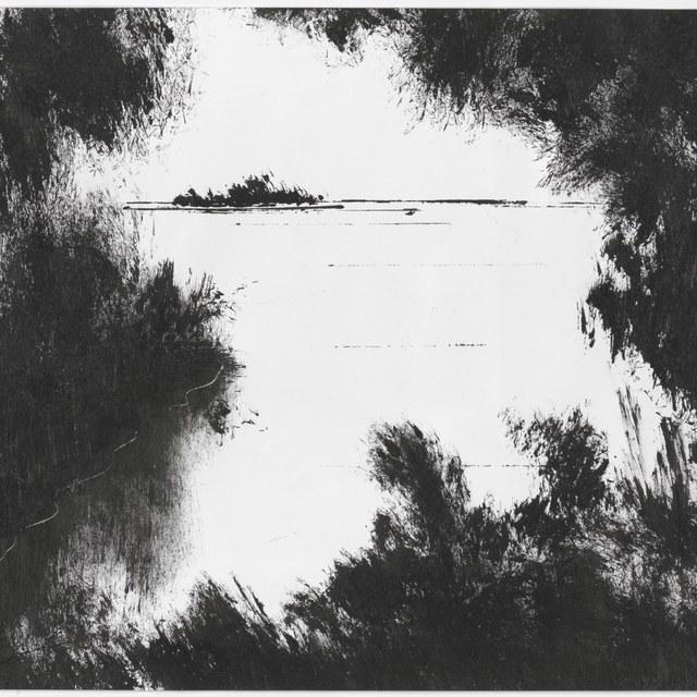 Zonder titel (rivier?landschap)