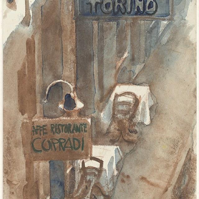 Straatje te Ventimiglia, 1931