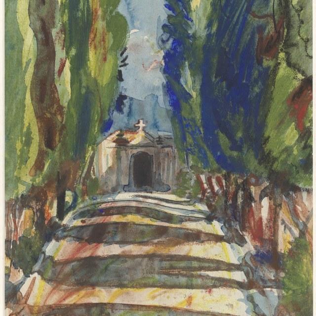 De begraafplaats bij S. Miniato te Florence, 1932