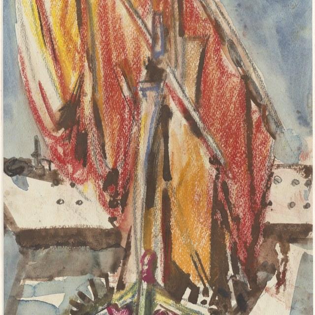 Schip bij Ancona, 1938
