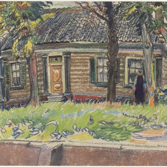 Boerderij in Noord-Holland, 1917