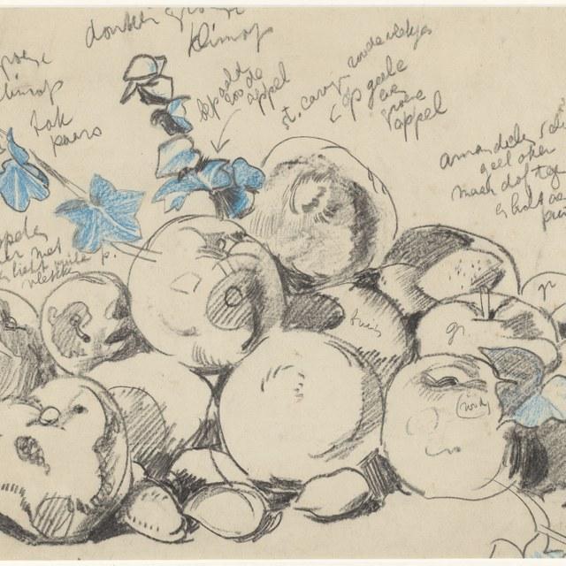 Stilleven met appels (1917)