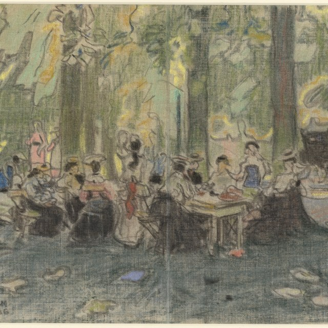 In het park, 1906