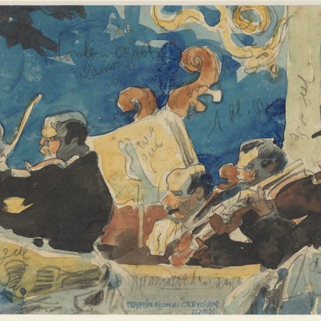 Het Strijkje, 1908