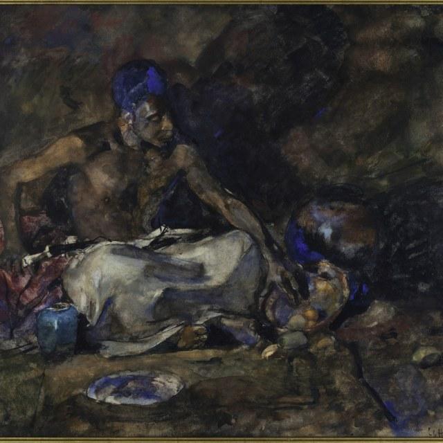 Adolphe Boutard als Arabier